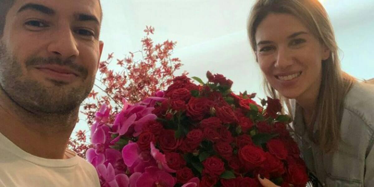 Apresentadora Rebeca e o jogador, Alexandre Pato são casados desde 2019 (Foto: Reprodução/Instagram)