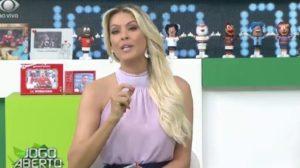 Renata Fan é tida como a estrela do esporte na Band (Foto: Reprodução)