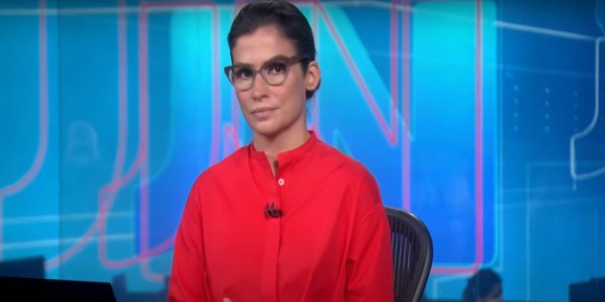 Renata Vasconcellos virou meme após chamar a 'técnica' durante o Jornal Nacional (Foto: Reprodução / TV Globo)