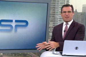 Rodrigo Bocardi sofreu acusação ao vivo na Globo (Foto: Reprodução)