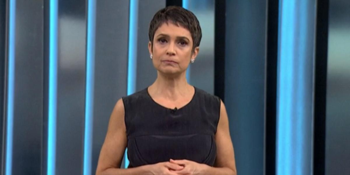 Sandra Annenberg ficará um período fora do ar na Globo (Foto: Reprodução)