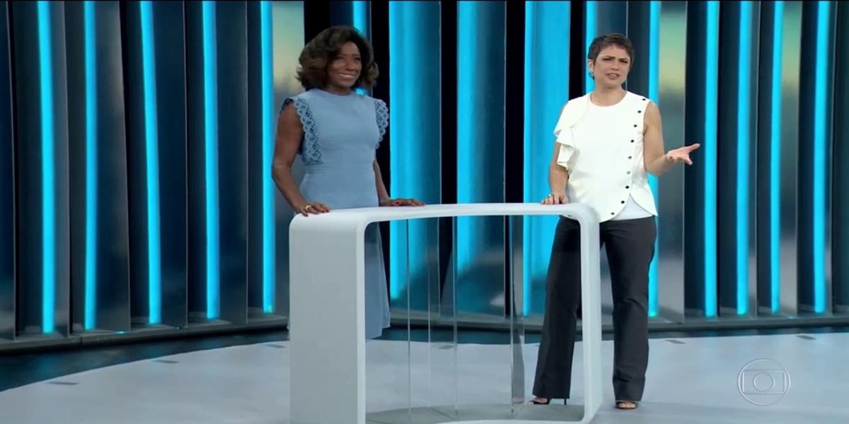 Sandra Annenberg, Glória Maria, Globo