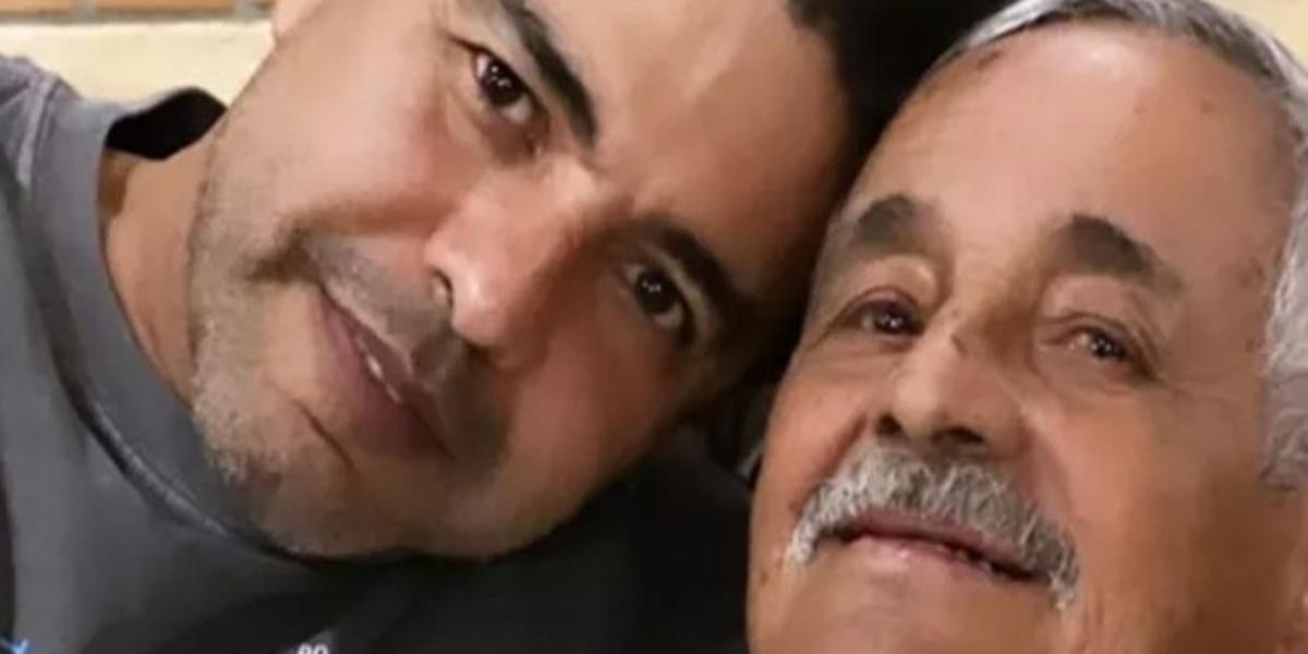 Seu Francisco, pai de Zezé, está se recuperando de uma cirurgia (Foto: Reprodução)