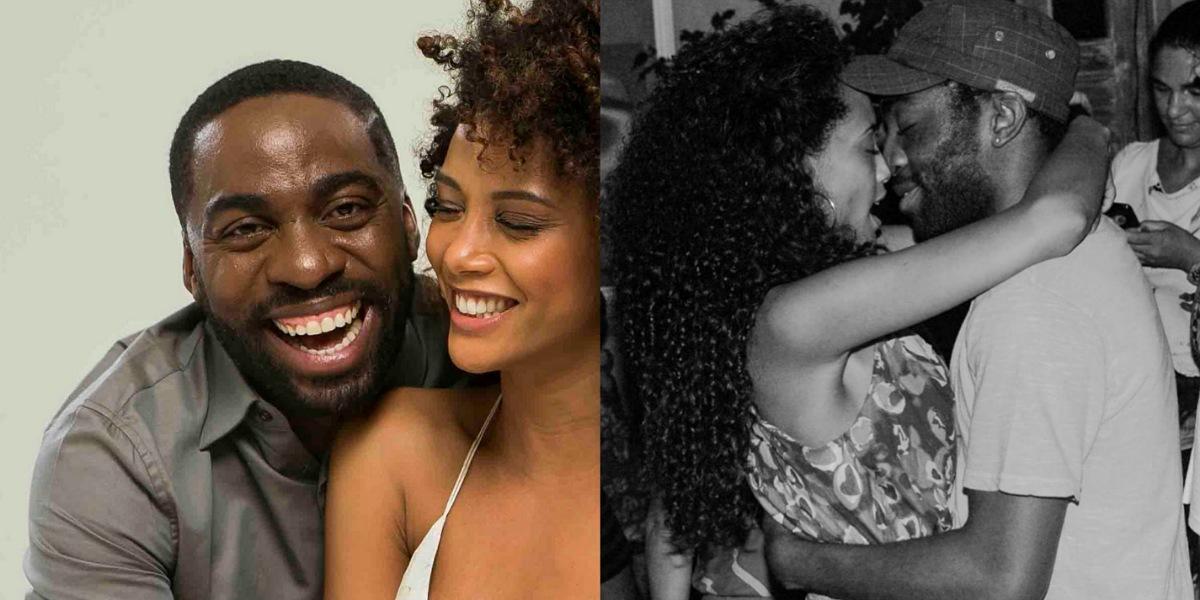 Taís Araújo usa redes sociais para celebrar aniversário do marido (Foto: Reprodução/Instagram/Twitter)