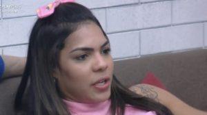 Tays Reis expôs medo de Raissa e causou polêmica nas redes sociais (Foto: Reprodução)