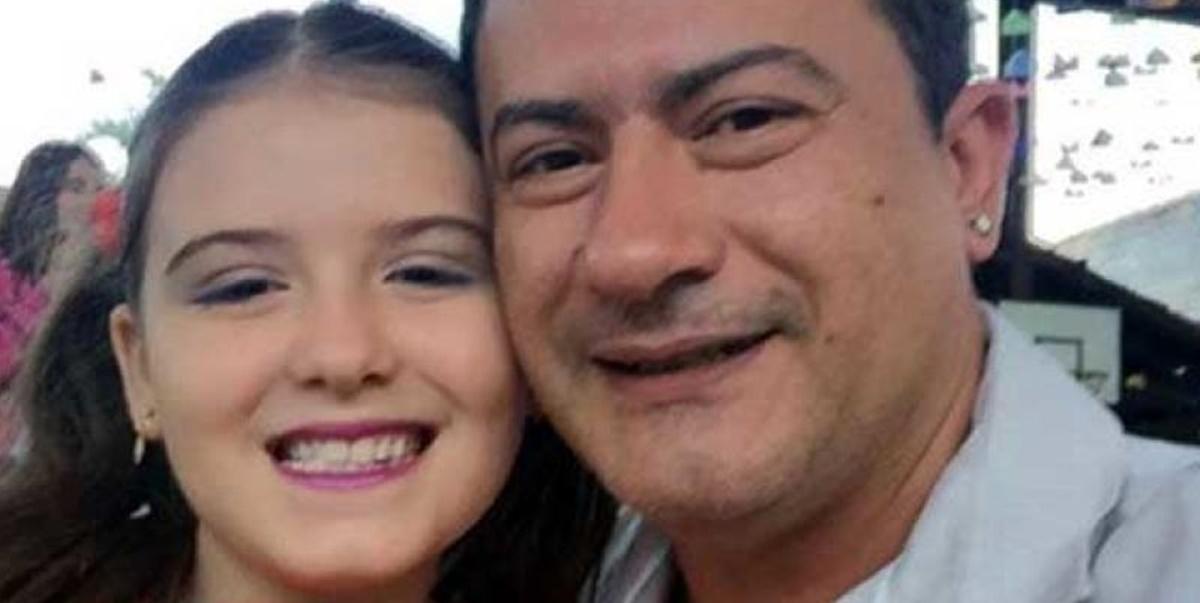 Morte: Tom Veiga ao lado de filha Alissa Veiga (Foto: Reprodução)