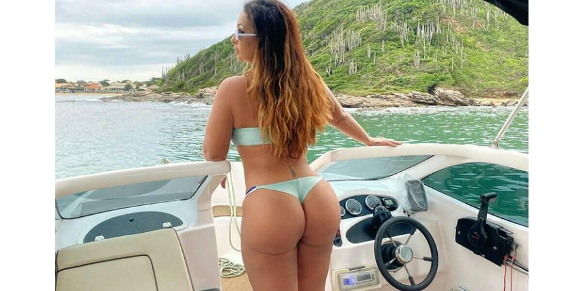 Valesca Popozuda posta clique quente nas redes sociais e foto chama atenção (Foto: Reprodução)