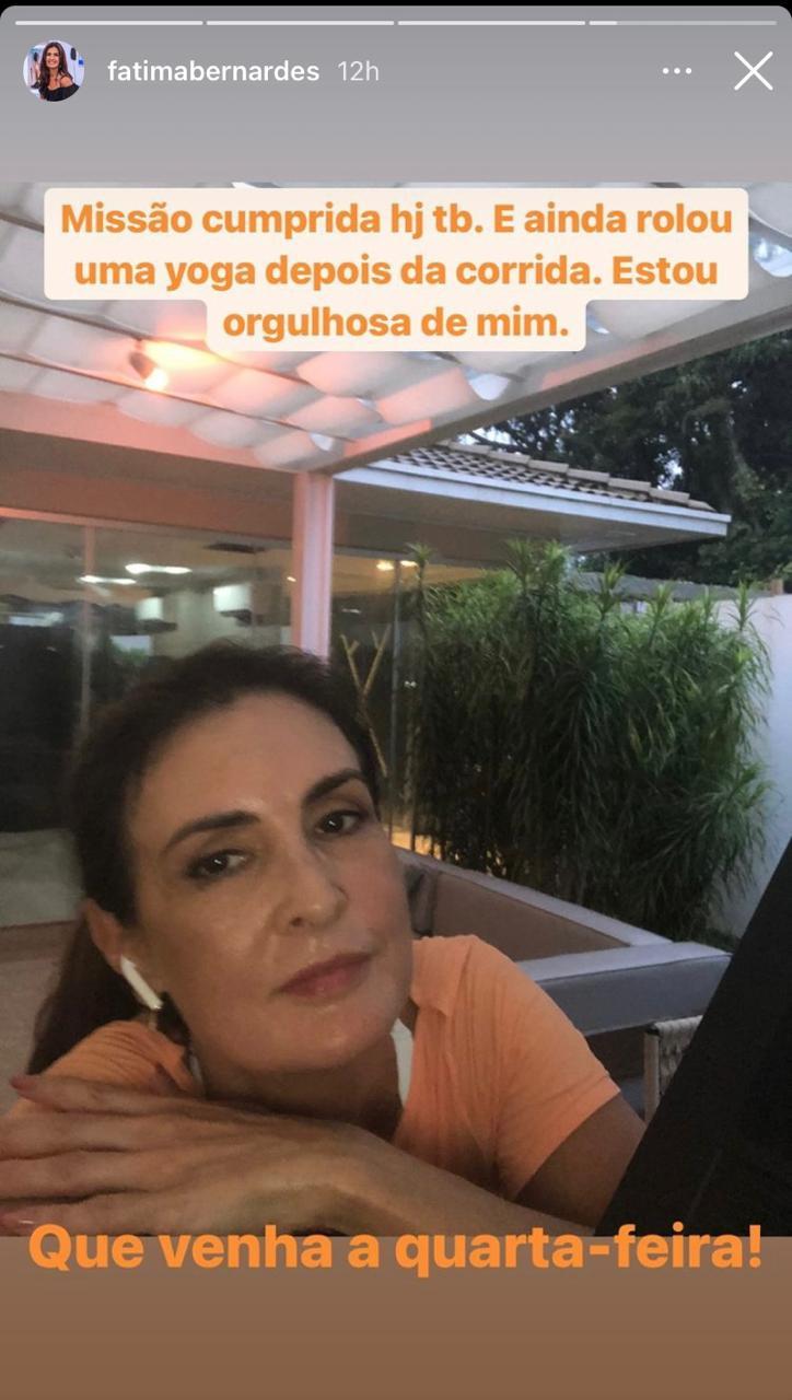 """Apresentadora cuida da saúde após retornar de suas férias do programa """"Encontro"""", da TV Globo (Reprodução: Instagram)"""
