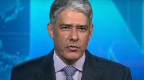 William Bonner costumava ser implacável nos bastidores do Jornal Nacional (Foto: Reprodução / TV Globo)