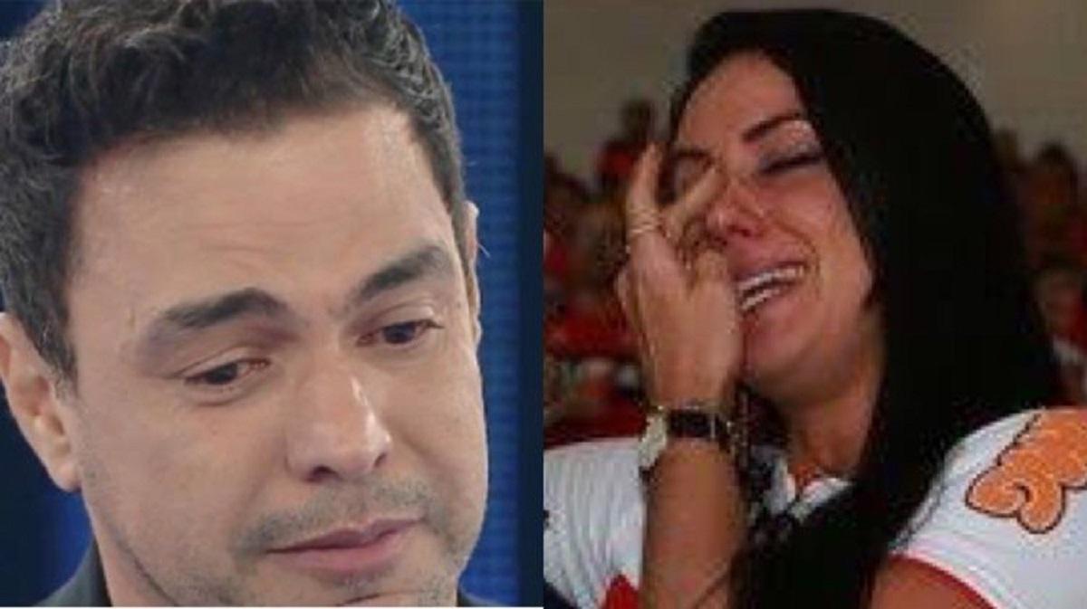 Graciele ficou abalada com morte do sogro Francisco (Foto: Reprodução) Zezé di Camargo Francisco