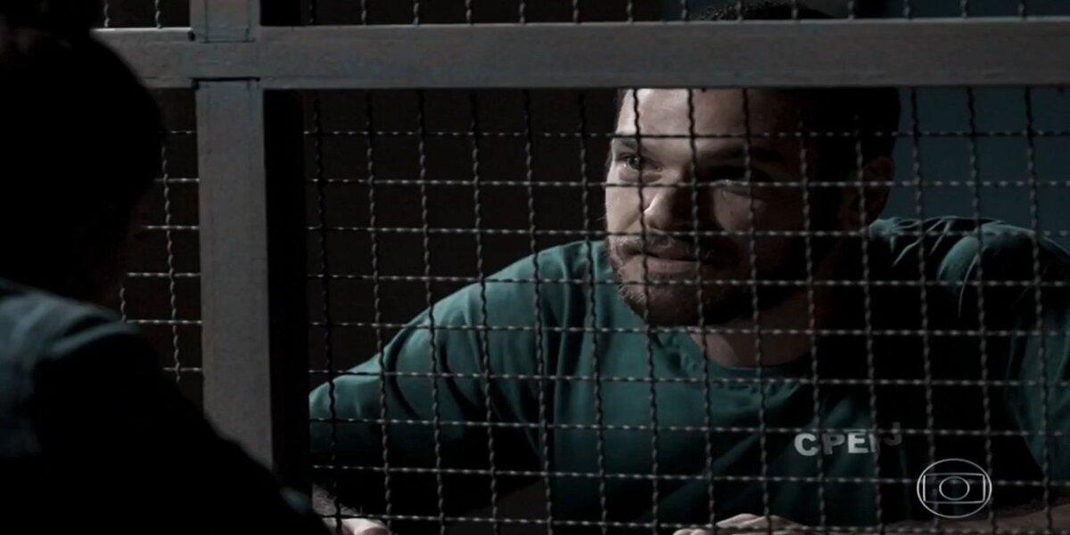 Rubinho na prisão em A Força do Querer