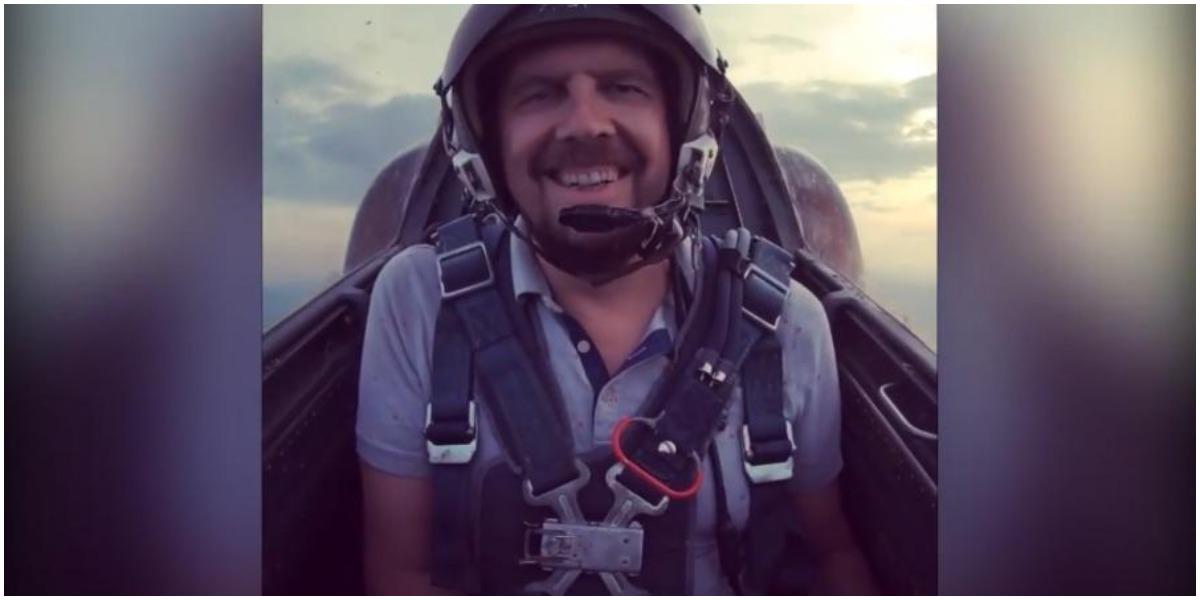 O apresentador de TV pilotava o avião que caiu (Foto: Reprodução)
