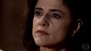 Alma (Marieta Severo) na novela Laços de Família