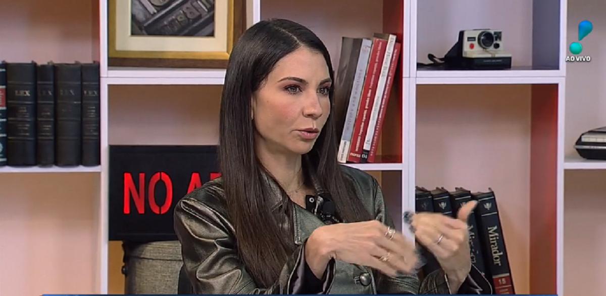 Amanda Klein bateu boca na RedeTV! (Foto: Divulgação)