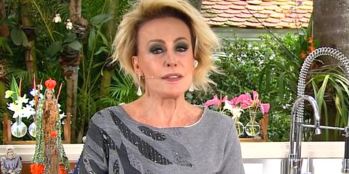 """Ana Maria Braga é apresentadora do """"Mais Você"""" (Foto: Reprodução/TV Globo)"""