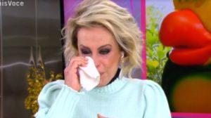 """Ana Maria Braga se emocionou no """"Mais Você"""" (Foto: Reprodução/TV Globo)"""