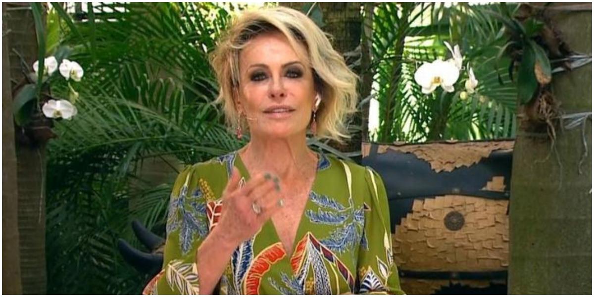 Ana Maria Braga explodiu em audiência (Foto: Reprodução/TV Globo)