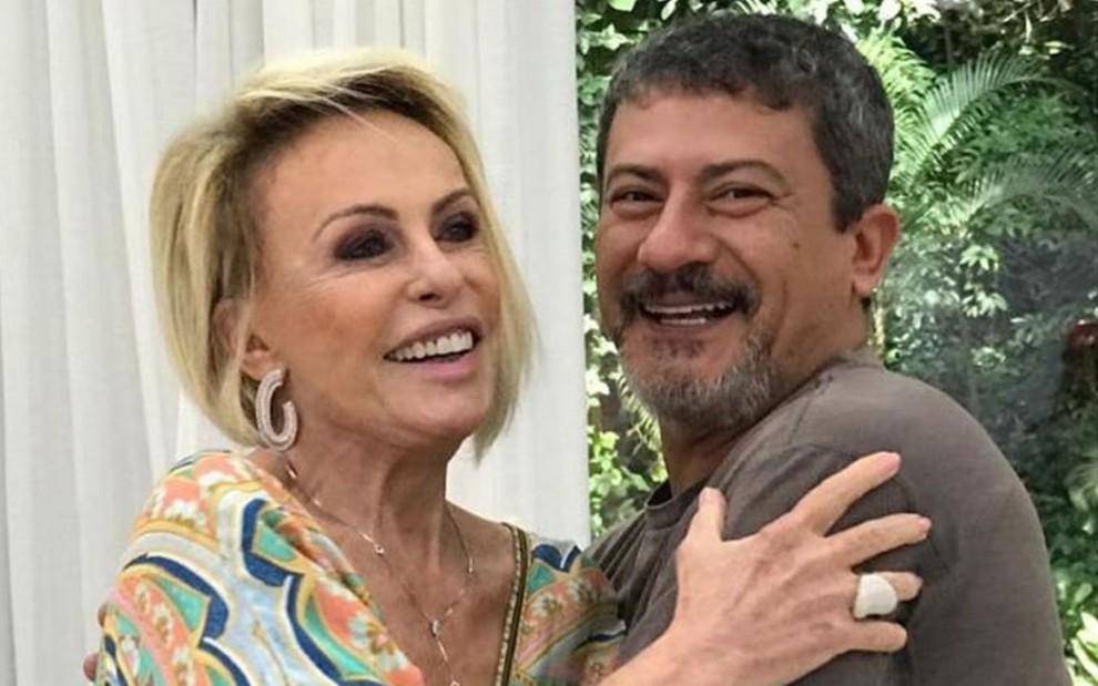 Tom Veiga e Ana Maria Braga (Foto: Reprodução) Louro José