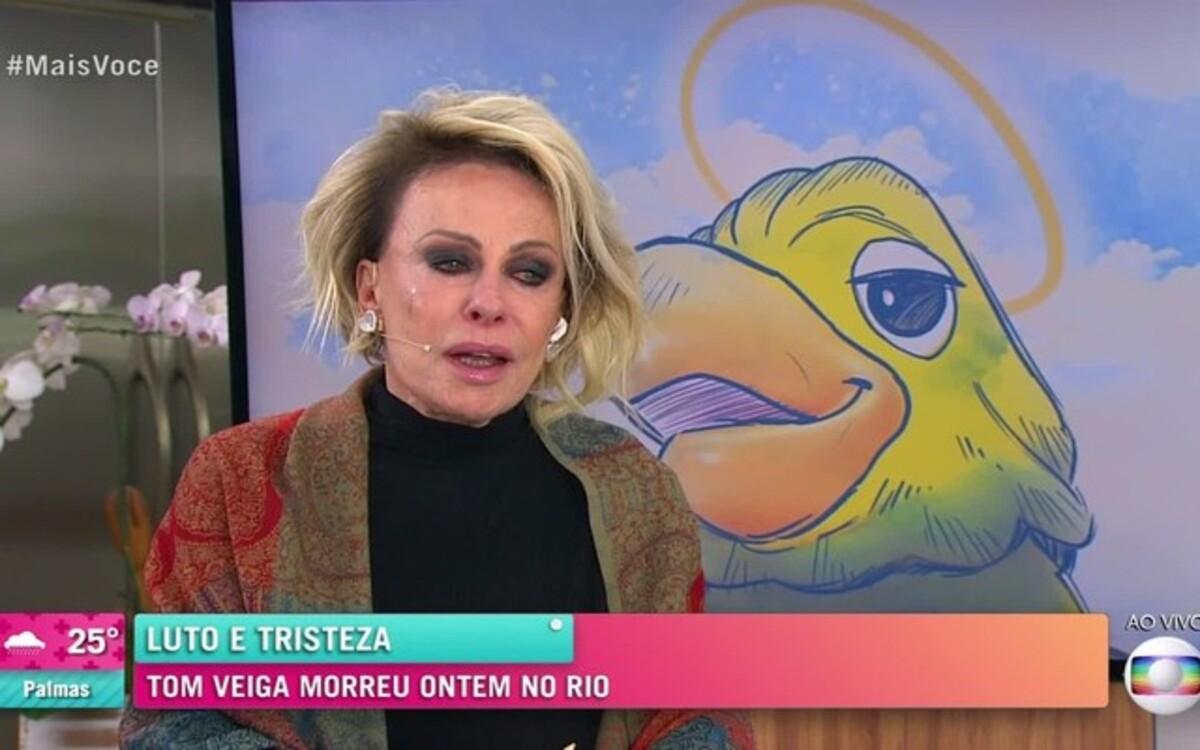Ana Maria Braga bateu recorde em homenagem a Tom Veiga (Foto: Divulgação)