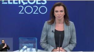Ana Paula Araújo durante debate na Globo - Foto: Reprodução