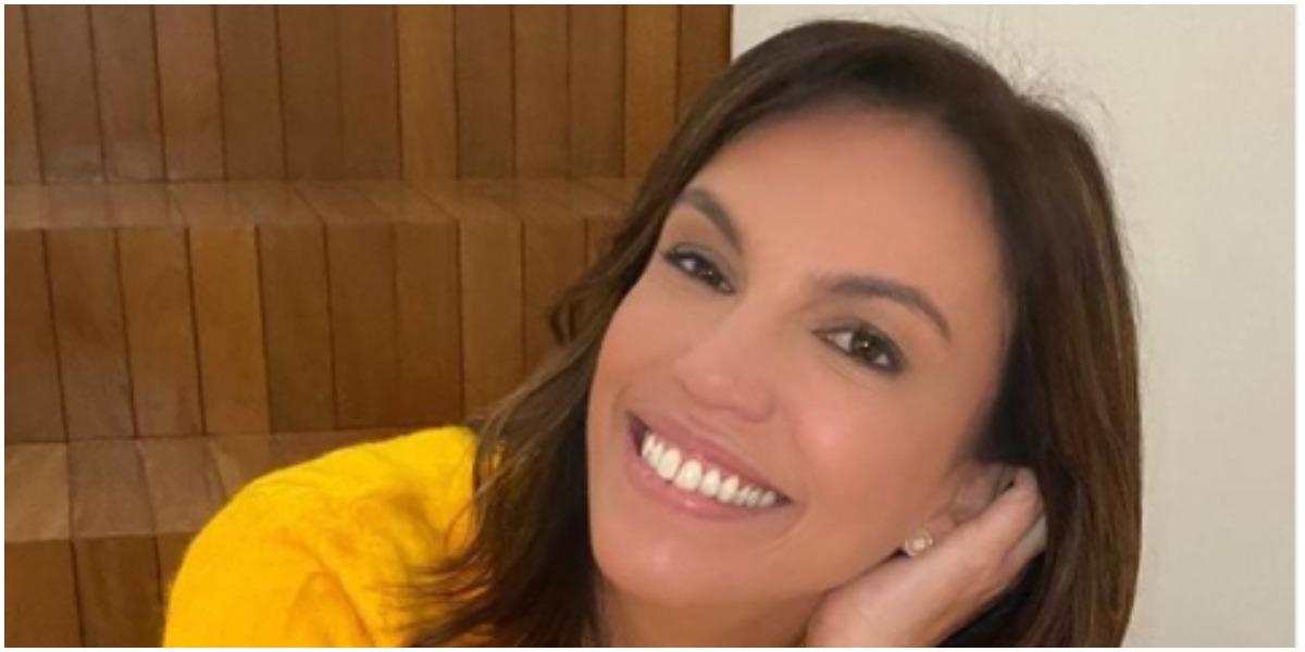 Ana Paula Araújo mostra namorado bonitão e se declara em dia especial (Foto: Reprodução)