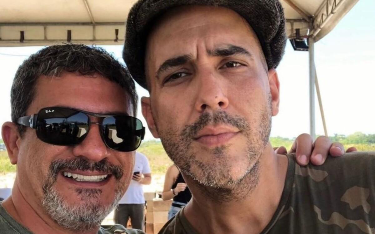 André Marques e Tom Veiga (Foto: Divulgação)