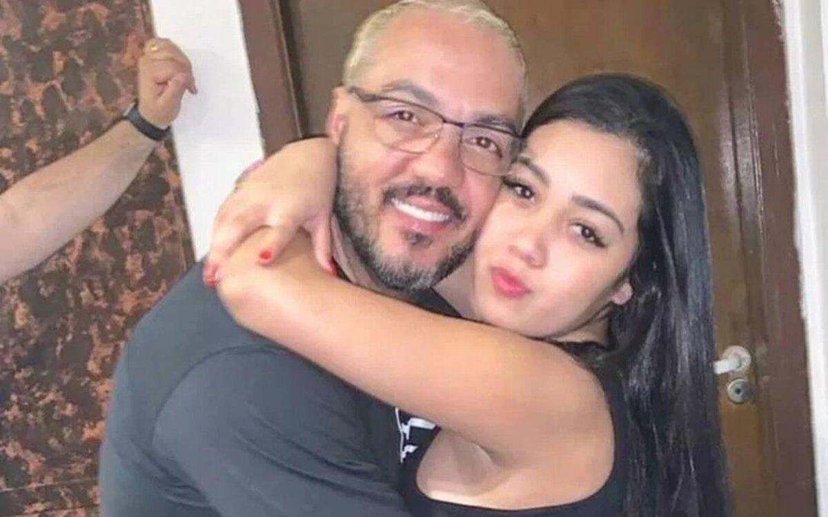 Belo e sua filha, Isadora (Foto: Divulgação)
