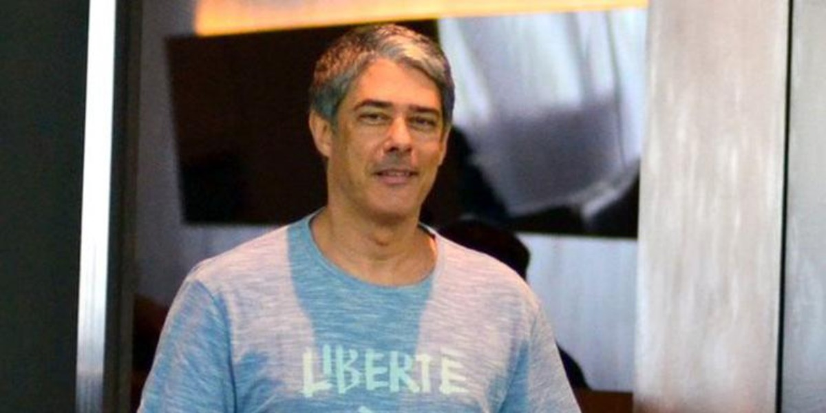 "William Bonner é âncora do ""Jornal Nacional"" (Foto: AgNews)"