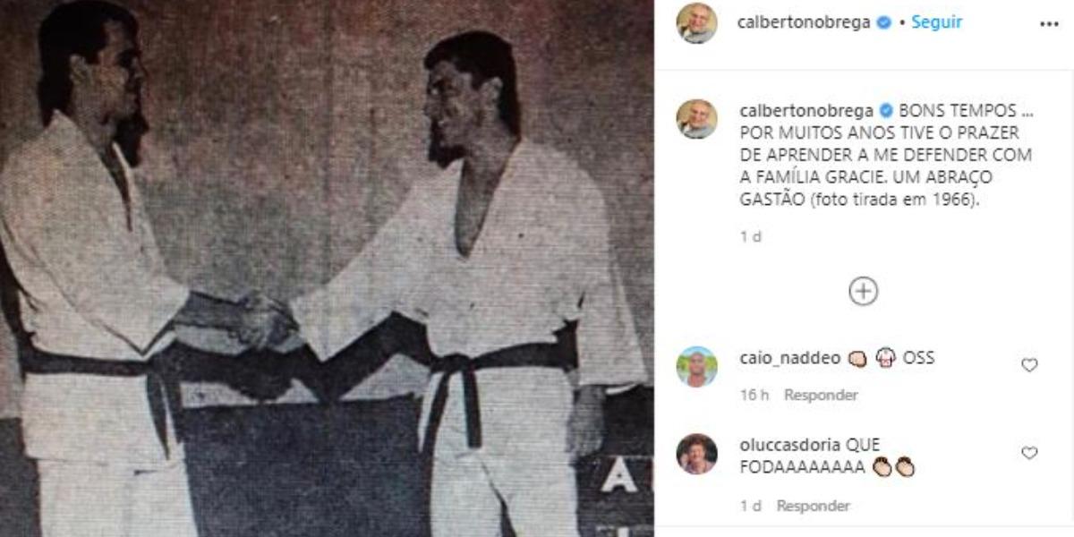 Carlos Alberto de Nóbrega fez postagem do passado (Foto: Reprodução/Instagram)