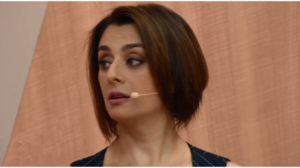 Cátia Fonseca surpreendeu durante programa de rádio - Foto: Reprodução