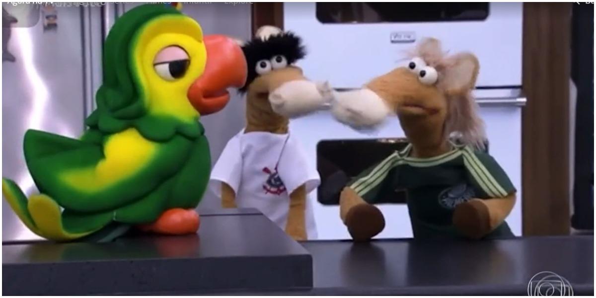 Os cavalinhos do Fantástico já visitaram Louro José na Globo - Foto: Reprodução