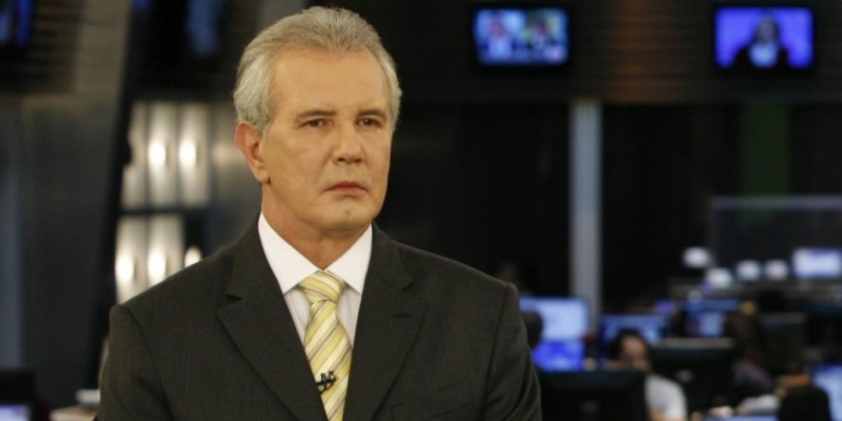 """Celso Freitas é âncora do """"Jornal da Record"""" (Foto: Divulgação)"""