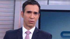 """César Tralli é âncora do """"SP1"""" (Foto: Reprodução/TV Globo)"""