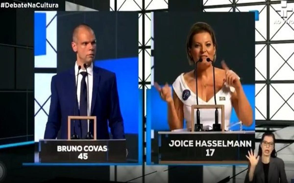 Bruno Covas e Joice Hasselmann (Foto: Divulgação)