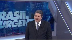 Datena surpreendeu no programa Brasil Urgente - Foto: Reprodução