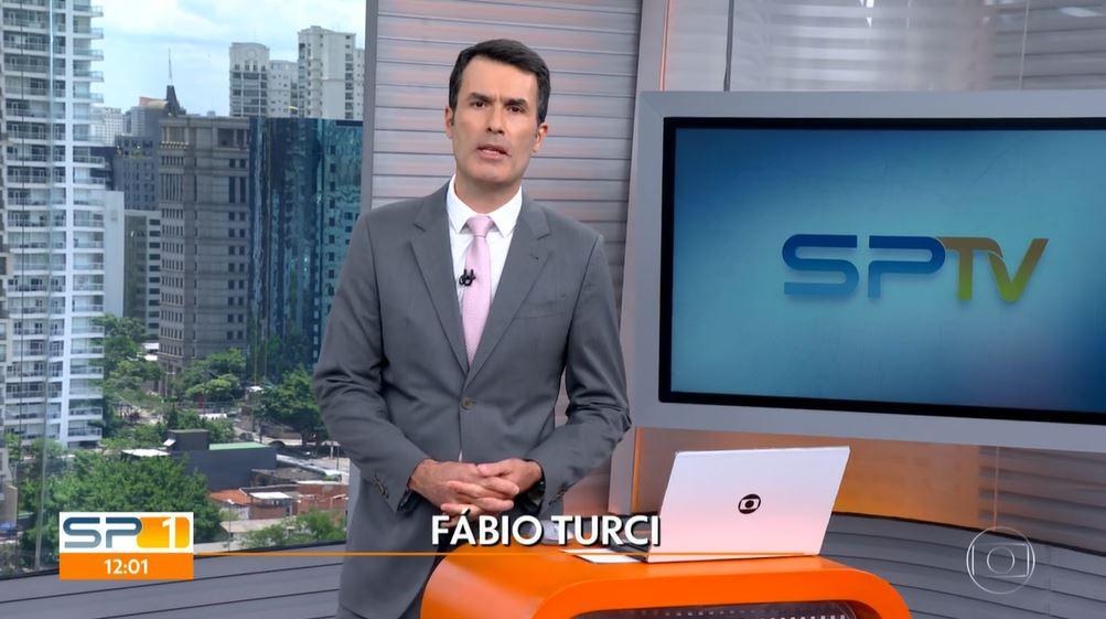"""Fábio Turci apresentou o """"SP1"""" nesta segunda-feira (Foto: Reprodução/TV Globo)"""