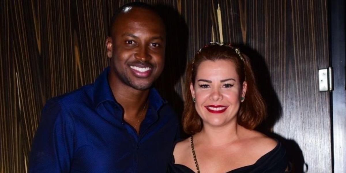 Thiaguinho e Fernanda Souza (Foto: AgNews)