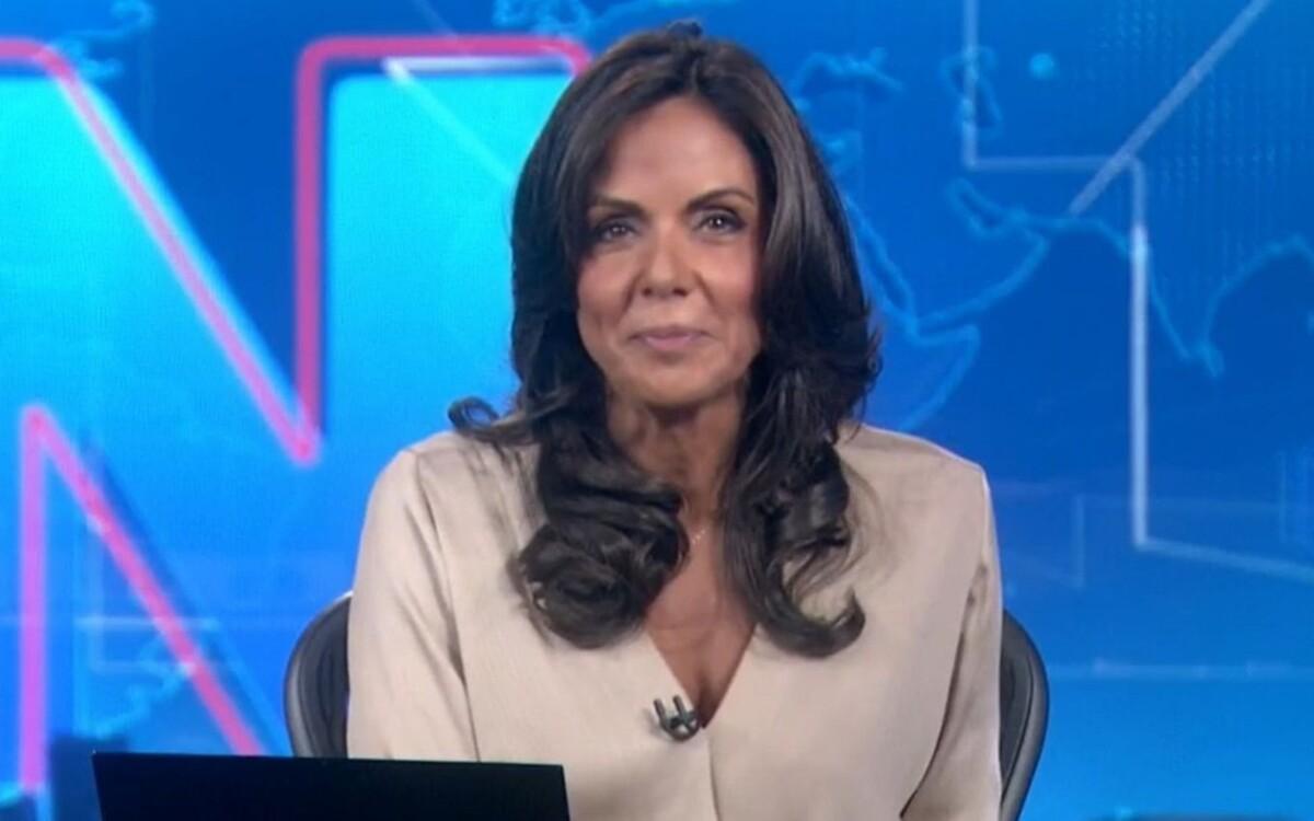 Cristina, jornalista da Globo, descobriu câncer (Foto: Divulgação)