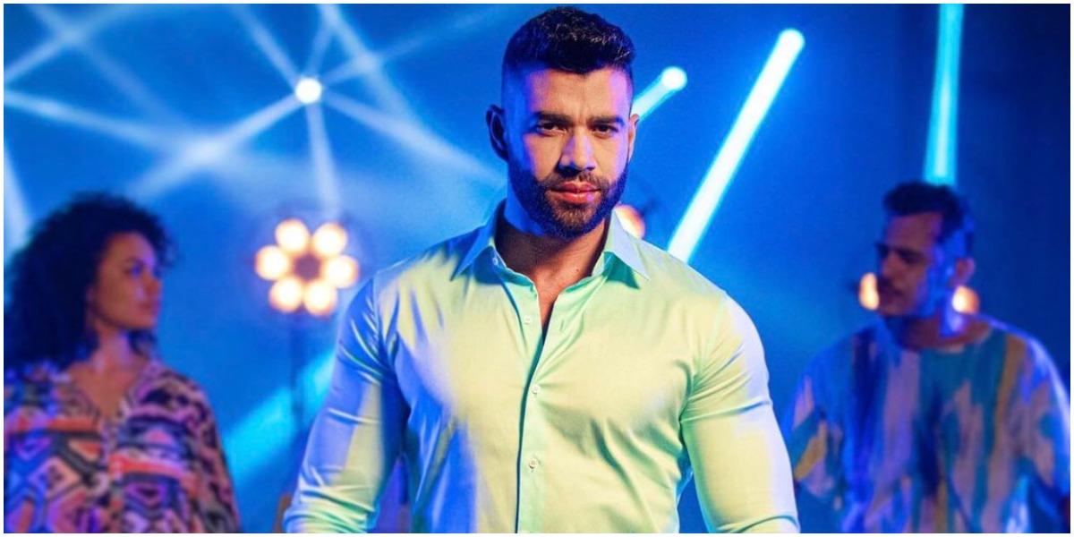 Gusttavo Lima participou do reality show da Globo (Foto: Reprodução)