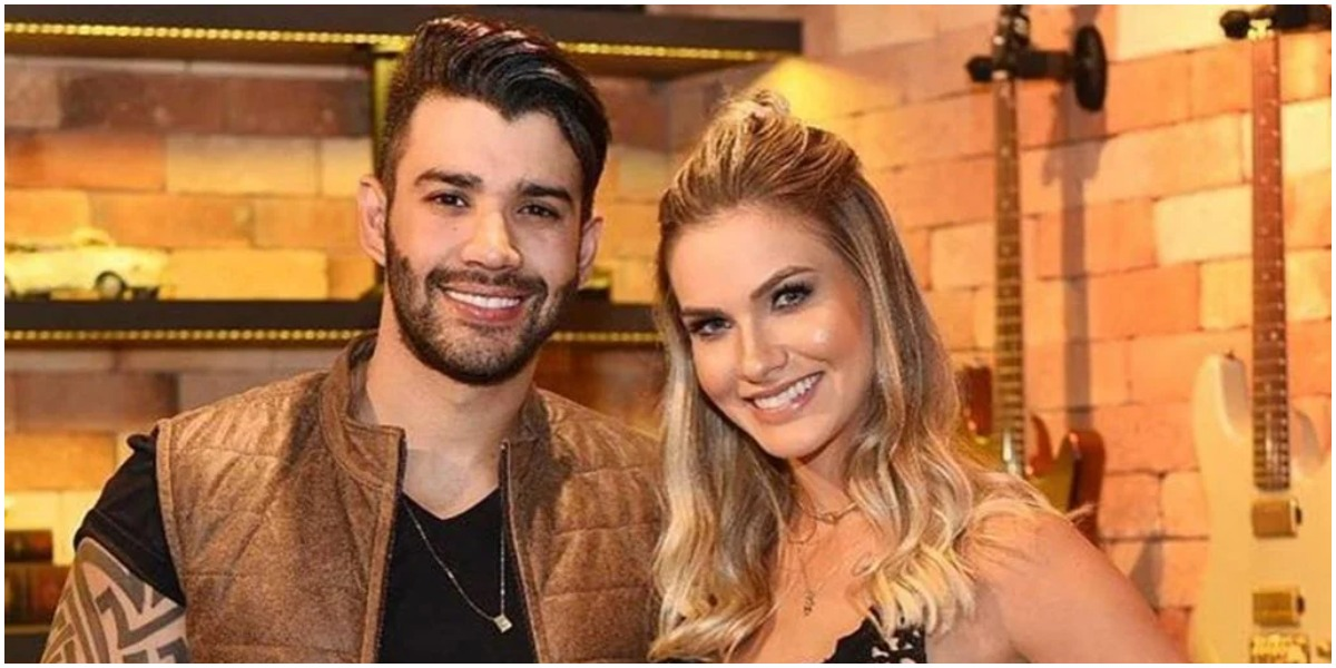 Gusttavo Lima e Andressa Suita apagaram as fotos em que aparecem juntos no Instagram (Foto: Reprodução)