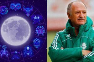 O aniversariante da segunda-feira, 09, é o técnico Luiz Felipe Scolari, que é do signo de Escorpião (Foto: Reprodução)