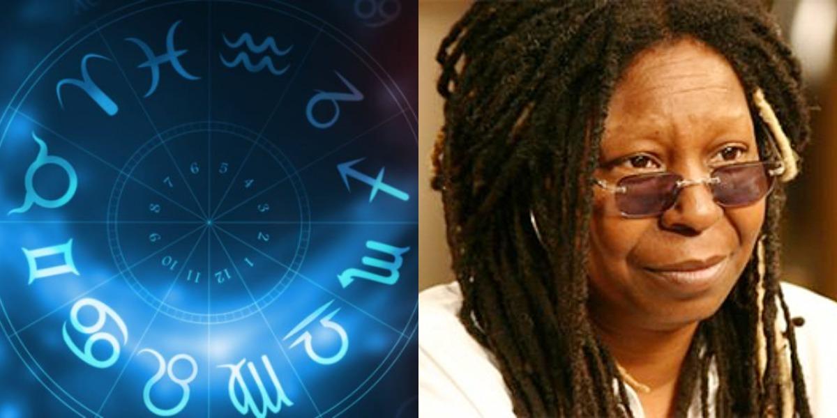 A sexta 13, é marcada pelo aniversário da atriz Whoopi Goldberg, artista do signo de Escorpião (Foto: Reprodução)