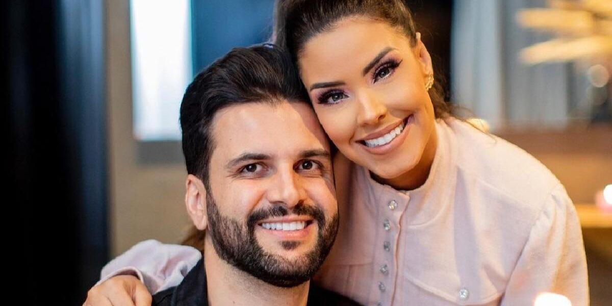 Ivy Moraes e Rogério Fernandes (Foto: Reprodução)