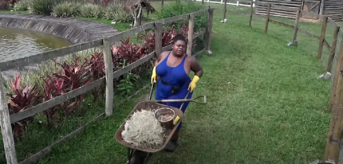 Jojo Todynho em A Fazenda (Foto: Reprodução)