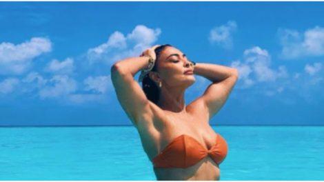 Juliana Paes surgiu nas Ilhas Maldivas ostentando corpão (Foto: Reprodução)