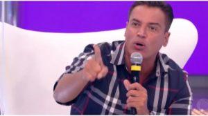 Leo Dias ficou fora das gravações no Hora do Faro (Foto: Reprodução)