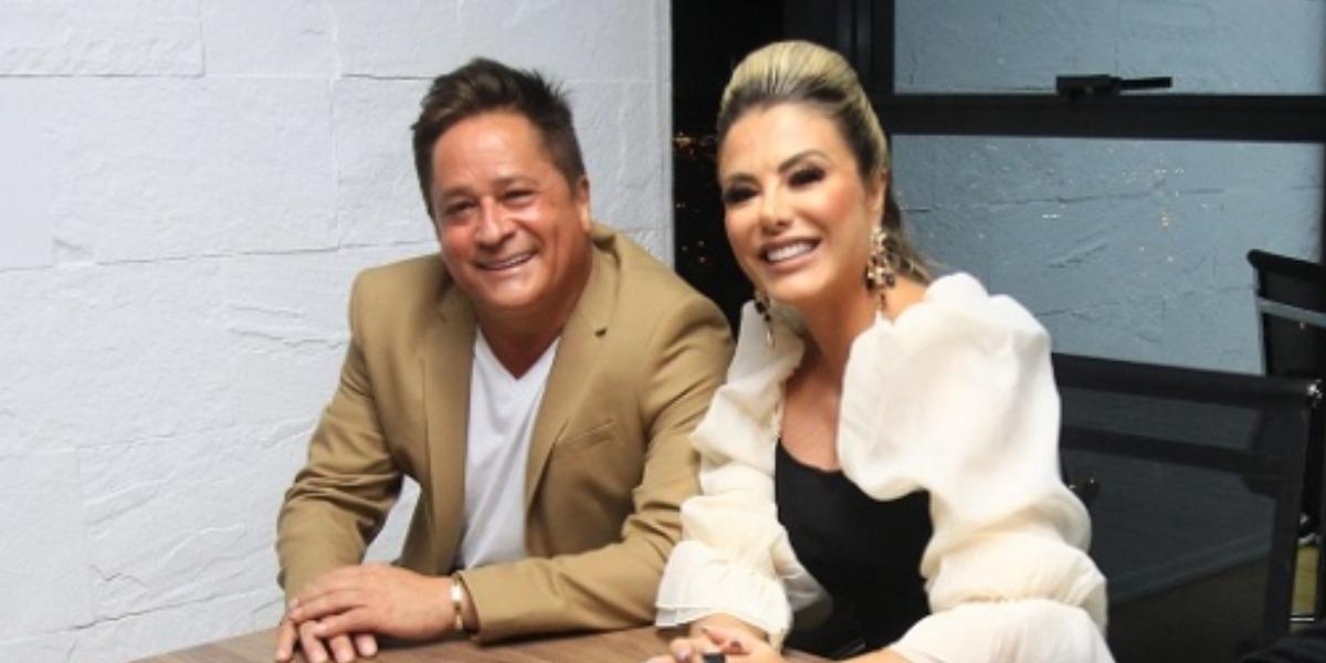 Leonardo e Poliana Rocha estão casados há 24 anos (Foto: Reprodução/Instagram)