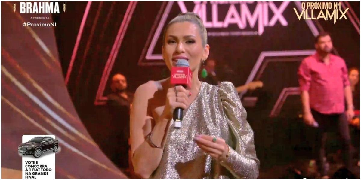 Lívia Andrade apareceu em programa da Globo após demissão do SBT (Foto: Reprodução)
