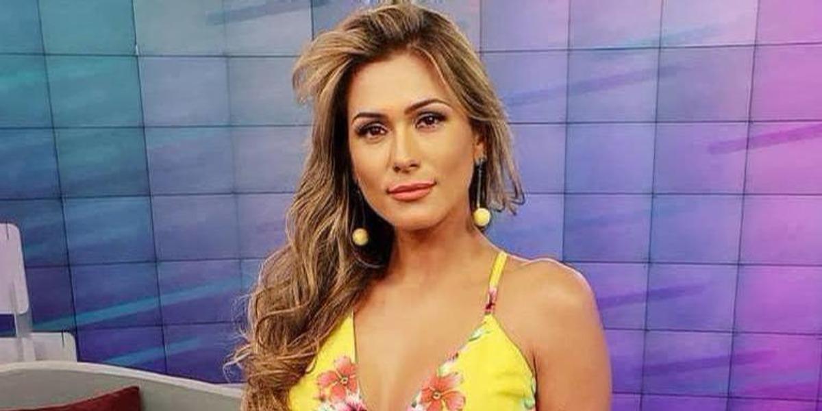 Lívia Andrade apareceu no palco do Teleton (Foto: Divulgação/SBT)