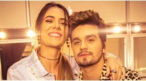 O cantor Luan Santana e Jade Magalhães - Foto: Reprodução